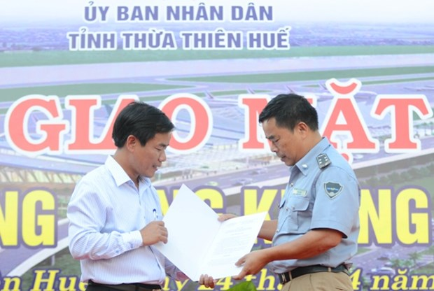 承天顺化省富排国际航空港扩建项目预计于今年第二季度动工 hinh anh 1
