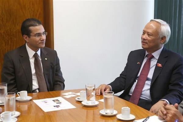 越巴两国加强立法领域的合作 hinh anh 2