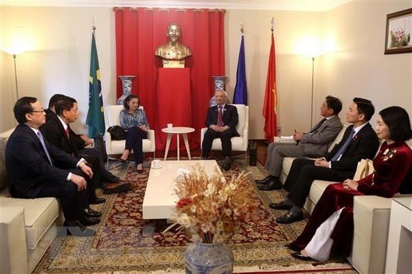 越巴两国加强立法领域的合作 hinh anh 3