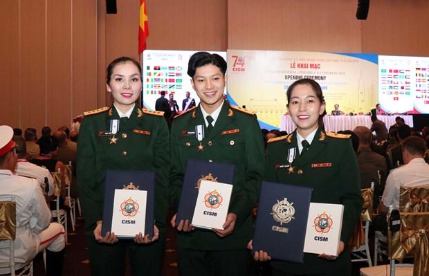 国际军事体育理事会第74届军体大会:军事体育加强团结增进友谊 hinh anh 1