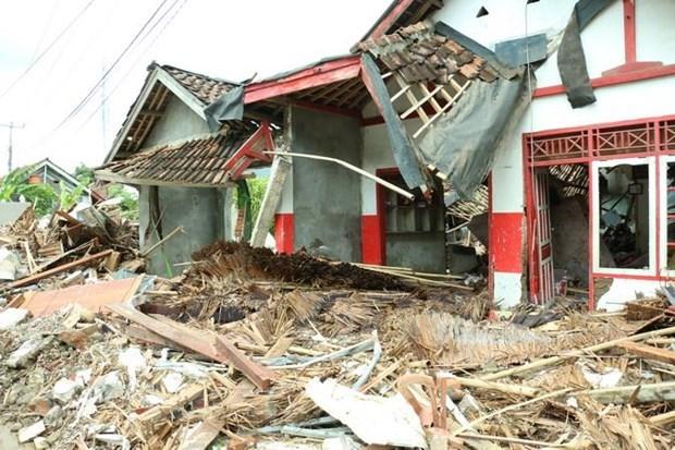 印尼再次发生地震 震感明显 hinh anh 1