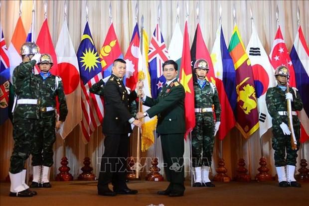越南接任2020年亚太维和训练中心联盟轮值主席国 hinh anh 1