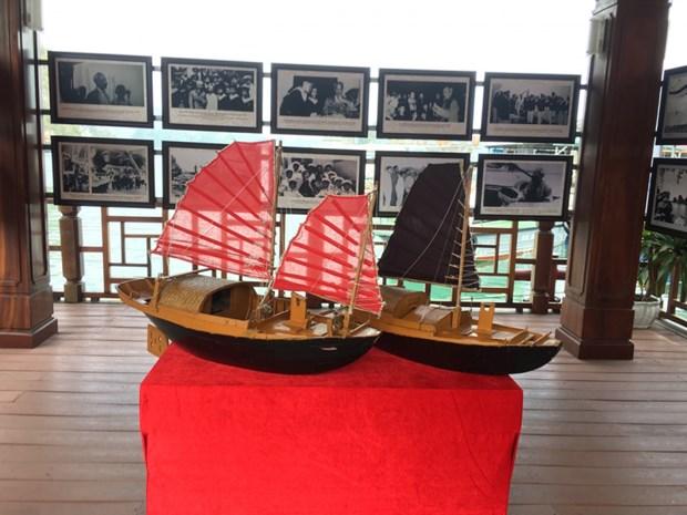 广宁省举行今与昔--下龙湾遗产专题展 hinh anh 2