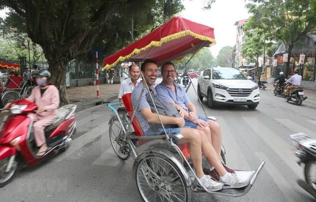 越南接待国际游客量持续增长 hinh anh 1