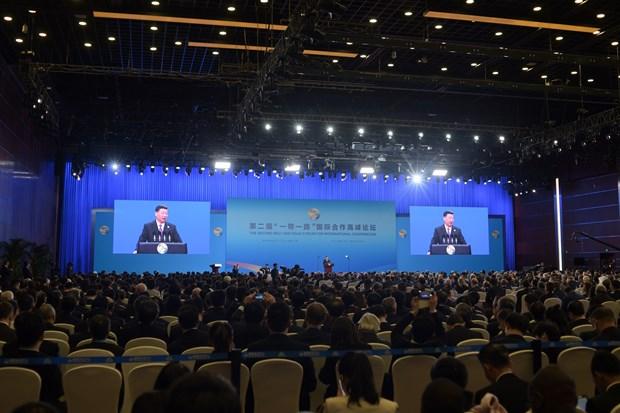 """""""一带一路""""国际合作高峰论坛在京开幕 越南欢迎推动区域互联互通的努力 hinh anh 1"""