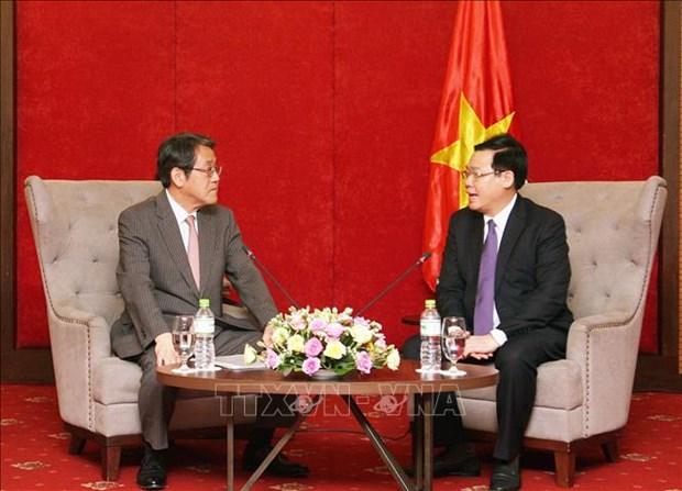 政府副总理王廷惠:越南政府愿为日本企业创造一切便利条件 hinh anh 1
