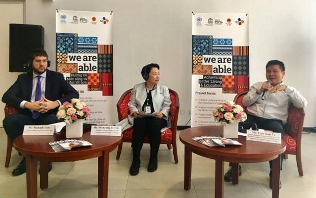 联合国教科文组织公布展开为女童的学习权利项目 hinh anh 1