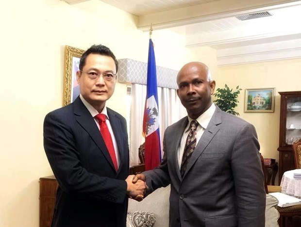 越南和海地两国共同提升双方合作层次和水平 hinh anh 1