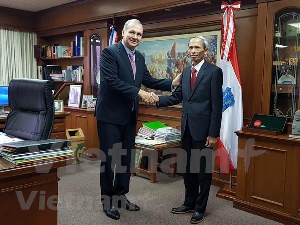 越南与巴拉圭促进合作关系 hinh anh 1