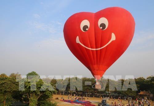 颇具特色的2019年顺化热气球节举行 hinh anh 2