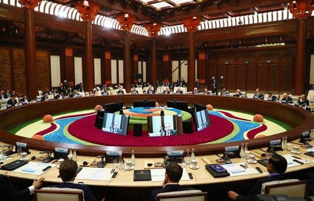 """阮春福出席第二届""""一带一路""""国际合作高峰论坛之行致力于促进越南与中国以及各发展伙伴的关系 hinh anh 2"""