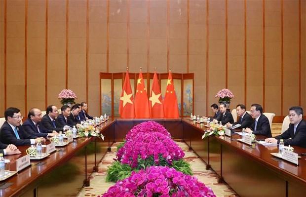 """阮春福出席第二届""""一带一路""""国际合作高峰论坛之行致力于促进越南与中国以及各发展伙伴的关系 hinh anh 3"""