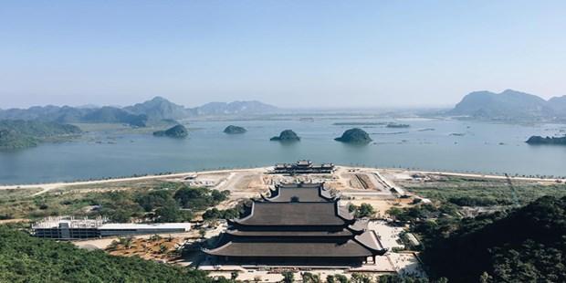 造访三祝寺虔灵旅游区群体 hinh anh 2