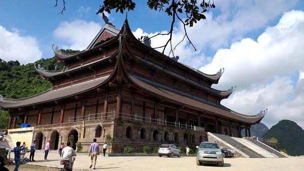 造访三祝寺虔灵旅游区群体 hinh anh 1