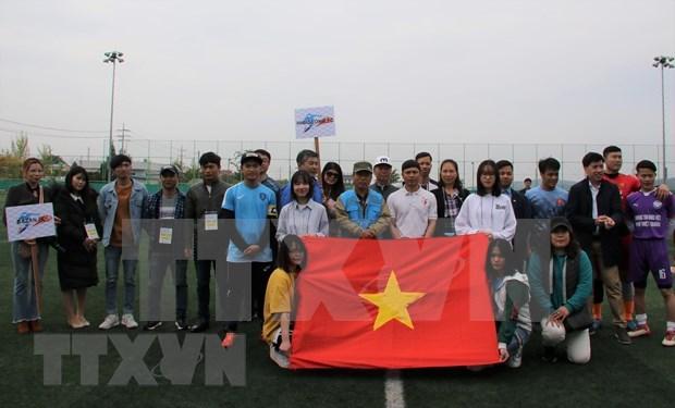 海外越南人纷纷举行越南南方解放、国家统一44周年纪念活动 hinh anh 2