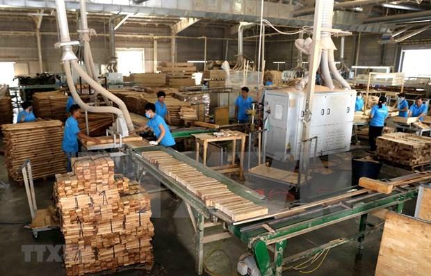 2019年前4月越南林产品实现贸易顺差24.88亿美元 hinh anh 1