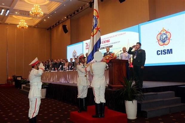 国际军事体育理事会第74届军体大会落下帷幕 hinh anh 1