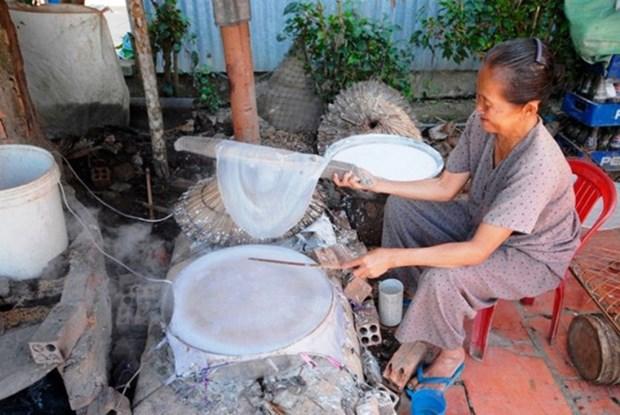 拥有200年历史的顺兴米皮制作手工艺村 hinh anh 1