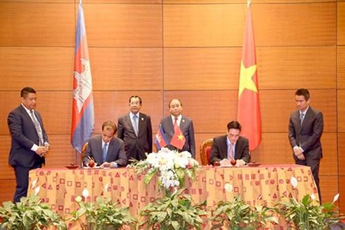 越柬避免双重征税协定将于2020年1月起实施 hinh anh 1