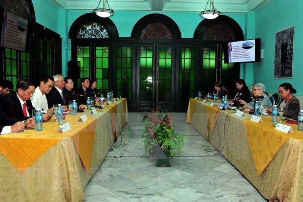 越南与古巴就政策制定和经济管理与监督领域进行经验交流 hinh anh 1