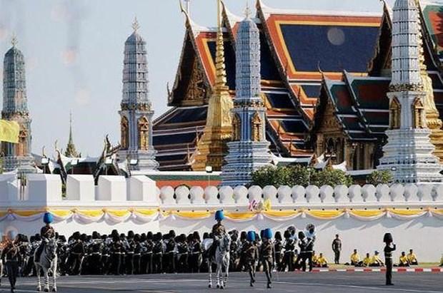 泰国为国王加冕仪式做准备 hinh anh 2