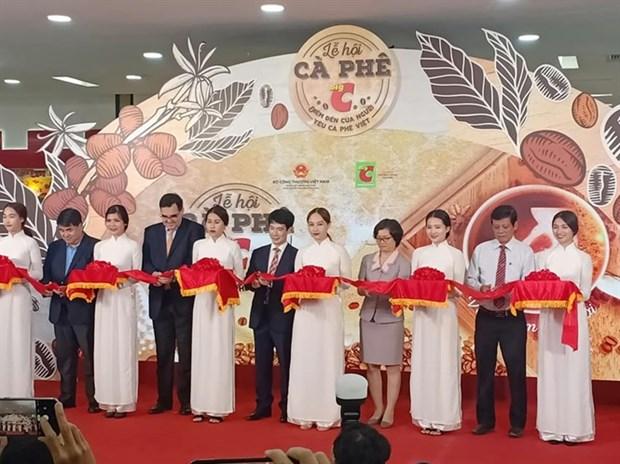 庆和省首个咖啡节吸引越南20个著名咖啡品牌参加 hinh anh 2