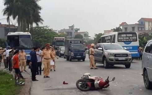 越南五天假期:96人因交通事故死亡 hinh anh 1