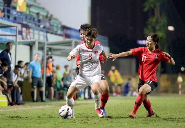越南U19女足获亚洲足联U19女足锦标赛决赛参赛资格 hinh anh 1