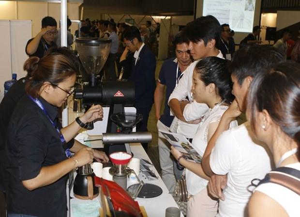 越南咖啡展览会在胡志明市开幕 hinh anh 1