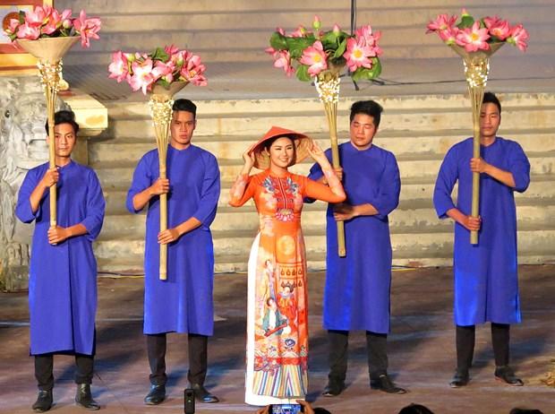 2019年第八届顺化传统手工艺节圆满落下帷幕 hinh anh 2