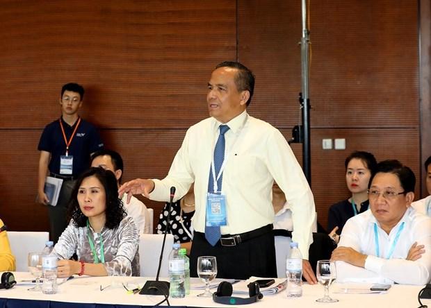 2019年越南私营经济论坛:疏通中长期资金流 促进经济社会发展 hinh anh 2