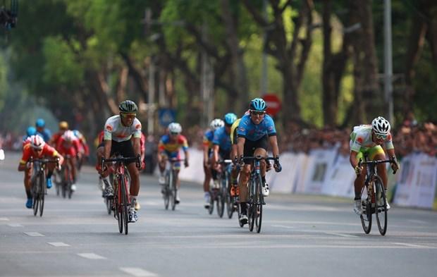 """""""2019年回归奠边府""""自行车比赛在河内市隆重举行 hinh anh 1"""
