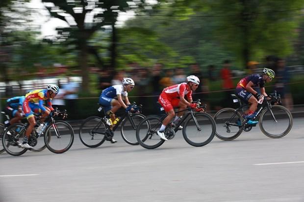 """""""2019年回归奠边府""""自行车比赛在河内市隆重举行 hinh anh 2"""