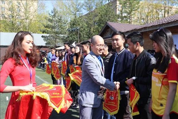 2019年夏季莫斯科越南留学生体育大会隆重举行 hinh anh 1