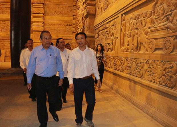 政府常务副总理张和平赴河南省考察2019年联合国卫塞节准备工作 hinh anh 2