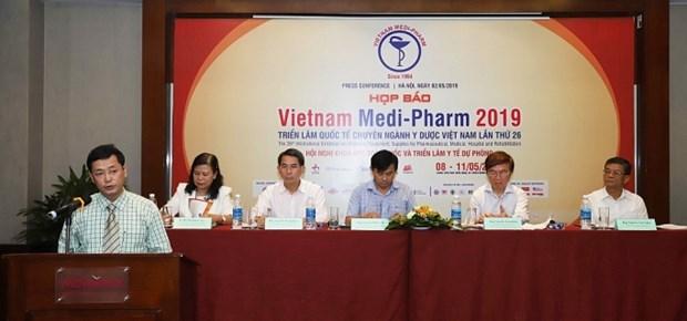 2019年越南国际医药与医疗设备展即将在河内开展 hinh anh 1