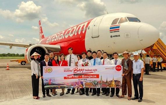 亚洲航空开通越南芹苴至泰国曼谷的直达航线 hinh anh 1