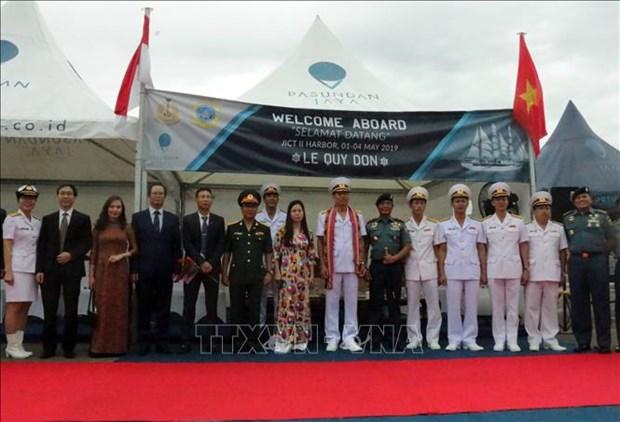 越南与印尼深化海军交流 hinh anh 2