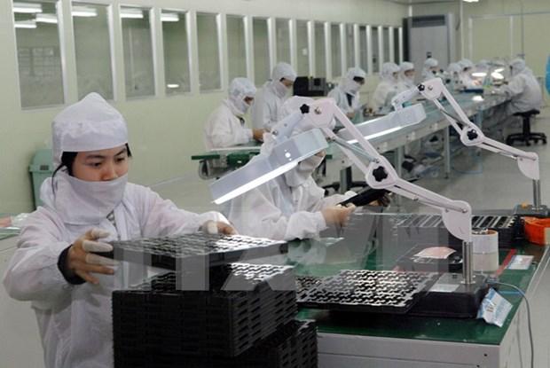 今年前4月越南工业生产保持良好增长势头 hinh anh 1
