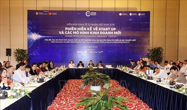 2019年越南私营经济论坛:为创新创业添加力量 hinh anh 1