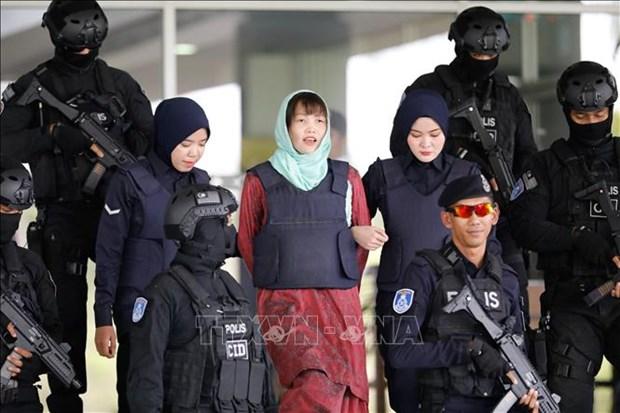 朝鲜公民被杀案:段氏香离开马来西亚雪兰莪州监狱 hinh anh 1