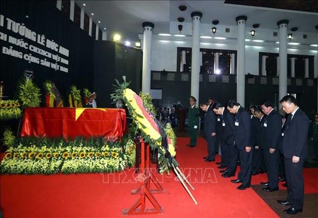 国际友人对原越南国家主席黎德英大将的深厚感情 hinh anh 3