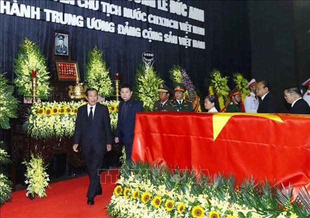 国际友人对原越南国家主席黎德英大将的深厚感情 hinh anh 2