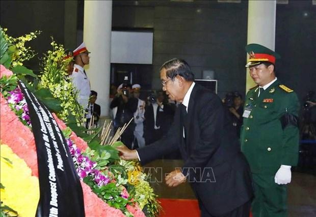 国际友人对原越南国家主席黎德英大将的深厚感情 hinh anh 1