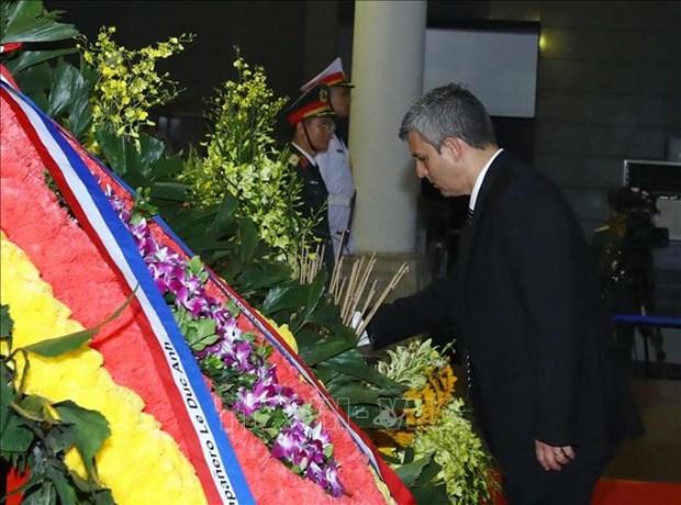 国际友人对原越南国家主席黎德英大将的深厚感情 hinh anh 4