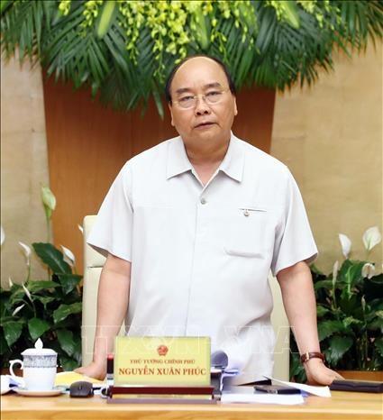 阮春福总理主持政府4月份例行会议 hinh anh 2