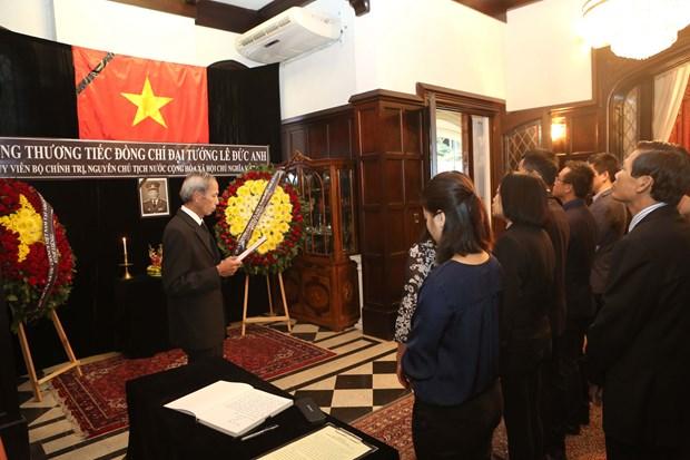 原越南国家主席黎德英吊唁仪式在美国、加拿大等国举行 hinh anh 1