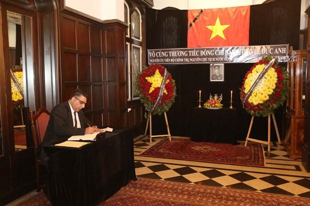 原越南国家主席黎德英吊唁仪式在美国、加拿大等国举行 hinh anh 2