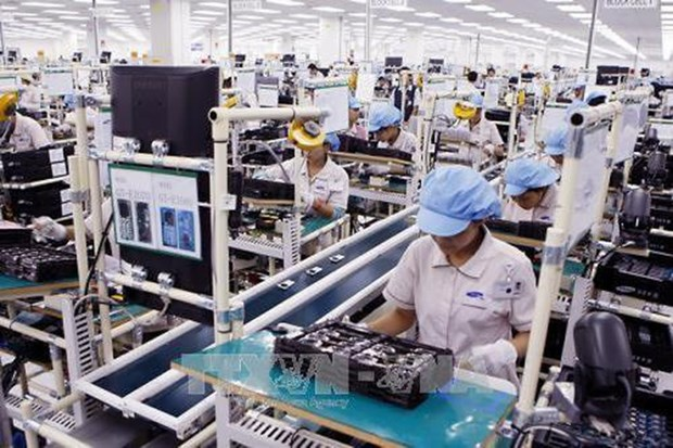越南16种商品的出口额超10亿美元 hinh anh 1
