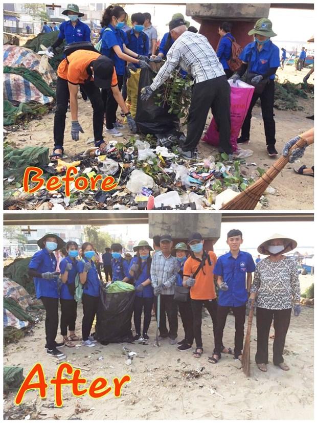 """庆和省发起绿色星期日活动和""""挑战以改变""""图片大赛 hinh anh 2"""